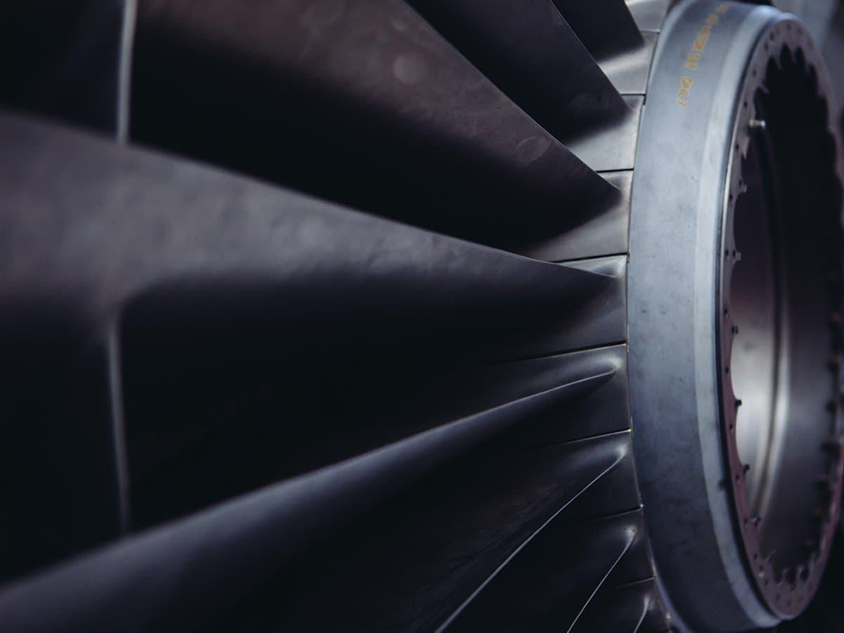 Belzer Solingen Induktions-Härterei Turbine